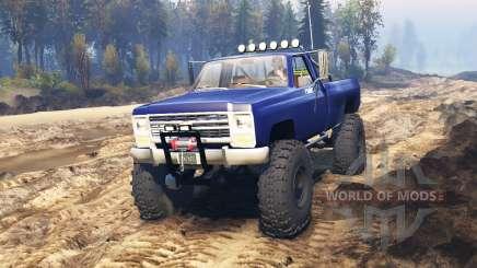Chevrolet Silverado 1979 v2.0 для Spin Tires