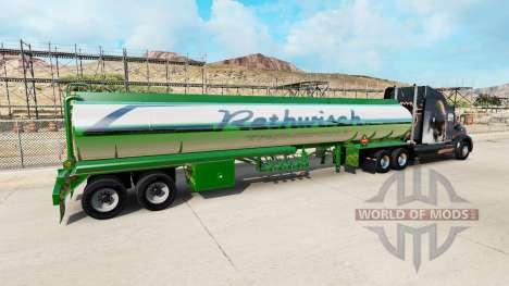 Скин Rethwisch Transport на полуприцеп для American Truck Simulator