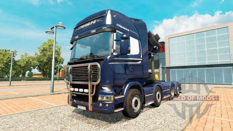 Chassis 8x4 Scania для Euro Truck Simulator 2