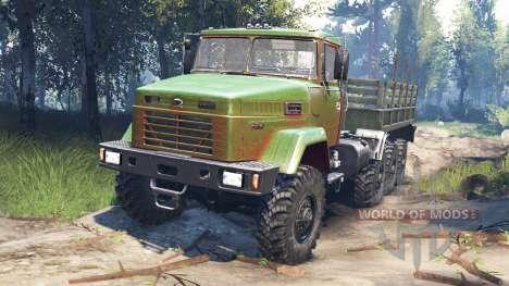 КрАЗ-7140 v3.0 для Spin Tires