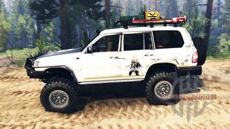 Toyota Land Cruiser 100 2000 [Samuray] v2.0 для Spin Tires