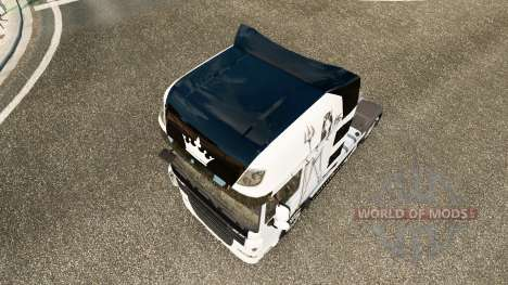 Скин Lil Devil на тягач DAF для Euro Truck Simulator 2