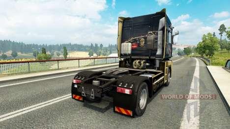 Скин F1 Lotus на тягач Renault для Euro Truck Simulator 2