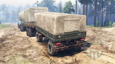 Урал-4320-10 10x10 для Spin Tires