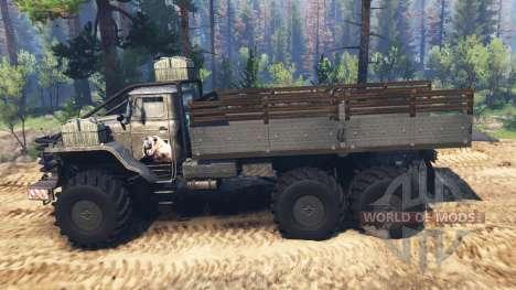 Урал-4320 [гризли] v2.0 для Spin Tires