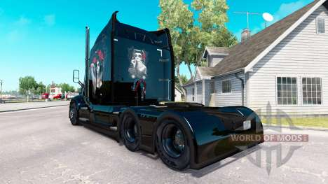 Скин Chicano на тягач Peterbilt для American Truck Simulator