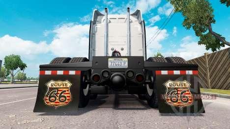 HD брызговики v1.2 для American Truck Simulator