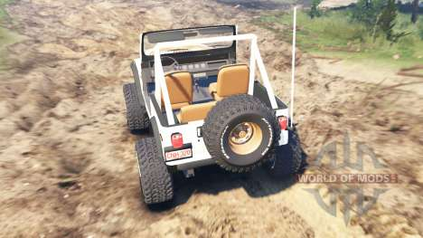 Jeep CJ-7 Renegade [Dixie] для Spin Tires