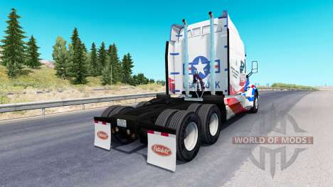 Скин USA Trucks на тягач Peterbilt для American Truck Simulator
