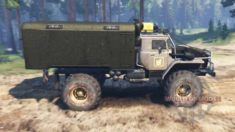 Урал-43206 [ураган] для Spin Tires