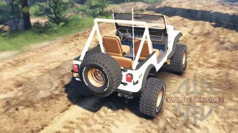 Jeep CJ-7 Renegade [Dixie] v2.0 для Spin Tires