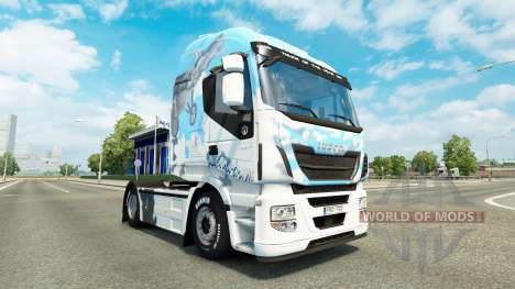 Скин Klanatrans v2.0 на тягач Iveco для Euro Truck Simulator 2
