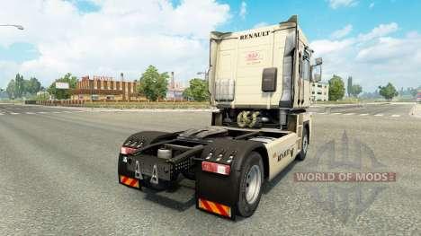 Скин Pinup на тягач Renault для Euro Truck Simulator 2