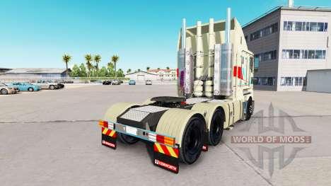 Скин Multicolor на тягач Kenworth K200 для American Truck Simulator