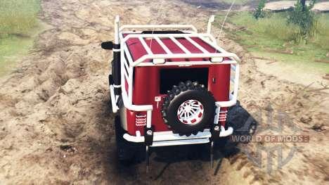 УАЗ-315195 [модифицированный] для Spin Tires