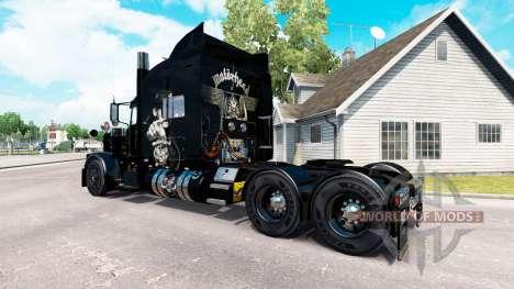 Скин Motorhead на тягач Peterbilt 389 для American Truck Simulator