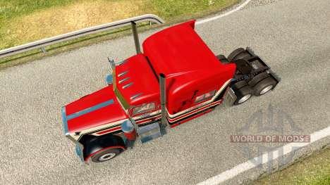Peterbilt 389 v3.0 для Euro Truck Simulator 2