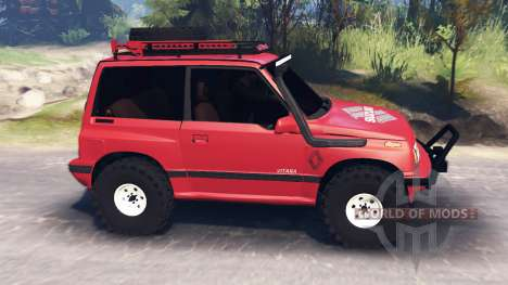 Suzuki Grand Vitara v3.0 для Spin Tires