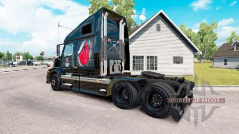 Скин Venom Energy на тягач Volvo VNL 670 для American Truck Simulator