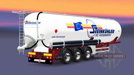 Полуприцеп-цистерна Steinkuhler для Euro Truck Simulator 2
