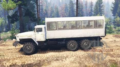 Урал-4320-30 v2.0 для Spin Tires