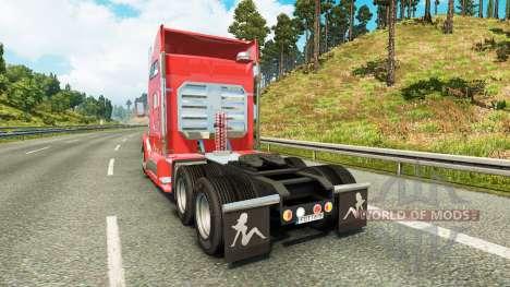 Kenworth T660 [fix] для Euro Truck Simulator 2