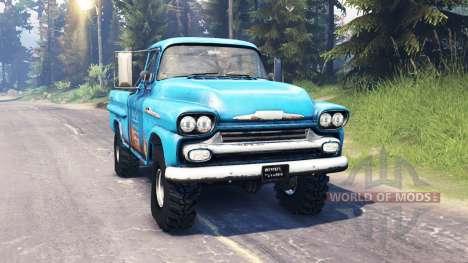 Chevrolet Apache 1959 v5.0 для Spin Tires