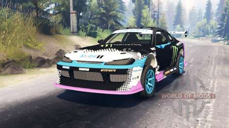Nissan Silvia S15 Drift для Spin Tires