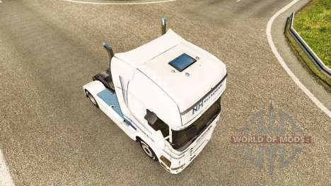 Скин Nils Hansson на тягач Scania для Euro Truck Simulator 2
