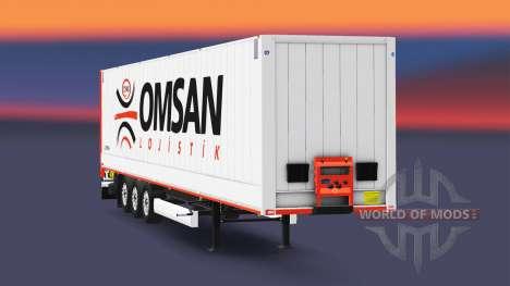 Полуприцеп-фургон Krone Dryliner v3.0 для Euro Truck Simulator 2