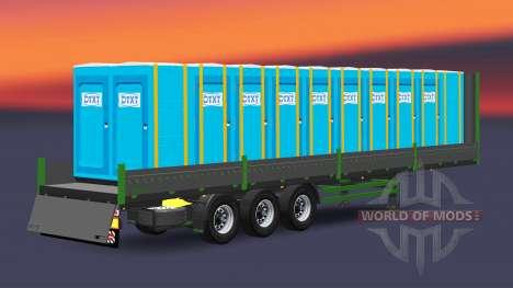 Бортовой полуприцеп Kogel для Euro Truck Simulator 2