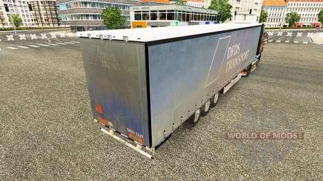 Полуприцеп Krone Paperliner для Euro Truck Simulator 2