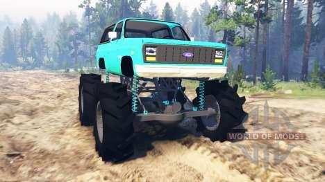 Ford Bronco 1984 для Spin Tires