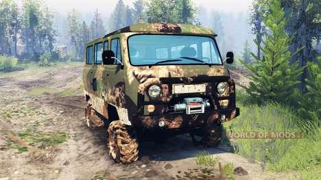 УАЗ-2206 v6.0 для Spin Tires