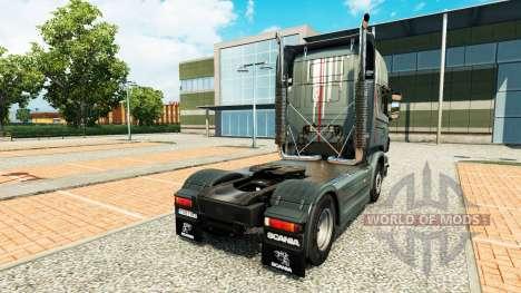 Скин на тягач Scania для Euro Truck Simulator 2