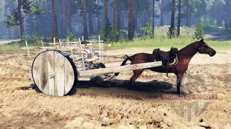 Повозка v2.0 для Spin Tires