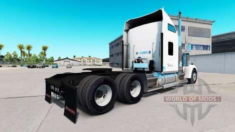 Скин Sysco на тягач Kenworth W900 для American Truck Simulator