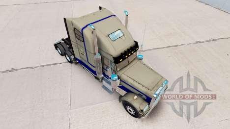 Скин Leavitts на тягач Freightliner Classic XL для American Truck Simulator