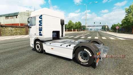 Скин Pema на тягач DAF для Euro Truck Simulator 2