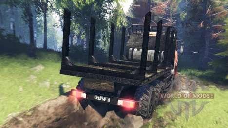 КамАЗ-6522 v7.0 для Spin Tires