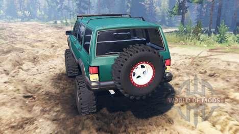 Jeep Cherokee XJ 1996 для Spin Tires