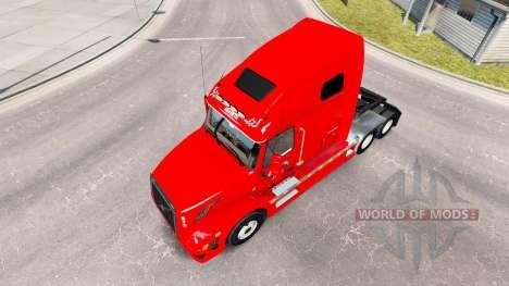 Скин Home Run на тягач Volvo VNL 670 для American Truck Simulator