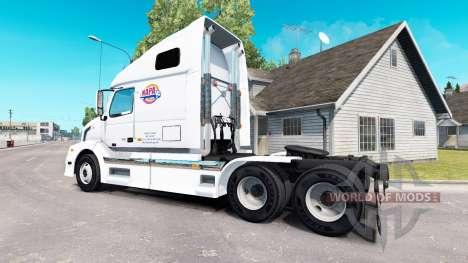 Скин NAPA на тягач Volvo VNL 670 для American Truck Simulator