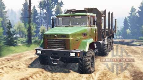 КрАЗ-7140 v2.0 для Spin Tires