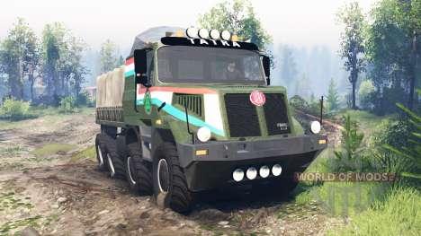 Tatra 163 Jamal 8x8 v6.0 для Spin Tires