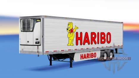 Скин Haribo на полуприцеп для American Truck Simulator