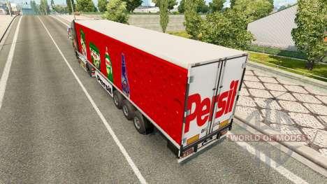 Скин Persil на полуприцеп для Euro Truck Simulator 2