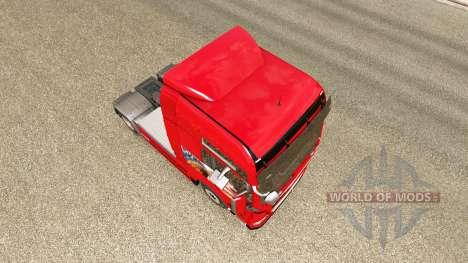 Скин Adler на тягач MAN для Euro Truck Simulator 2