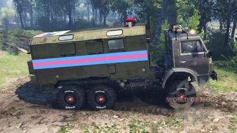 КамАЗ-4310 v5.0 для Spin Tires