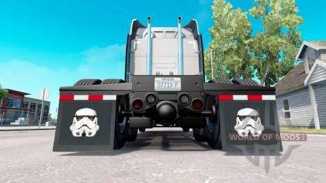 Сборник скинов для брызговиков для American Truck Simulator
